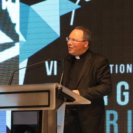 Reitor do Santuário de Fátima deu as boas-vindas aos participantes do VI Workshop Internacional de Turismo Religioso